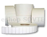 "2/5"" DTM Poly White Gloss 4x2"" (102x51mm), 1000x"