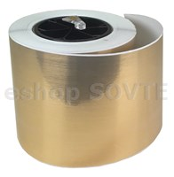"3/6"" DTM Metallic Gold Brushed 4,80"" (122mm), 47m"