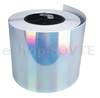 "3/6"" DTM Poly Silver HoloGram Gloss 4,80"" (122mm), 47m"